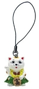 Lucky Cat Cell Charm-Hula Girl