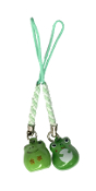 Cell Phone Charm - Frog Bell