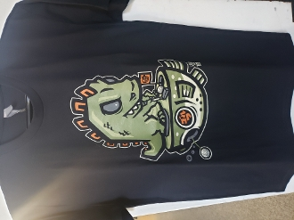 Golfzilla Adult T-shirt