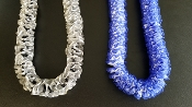 Fancy Ribbon Leis - Various Colors