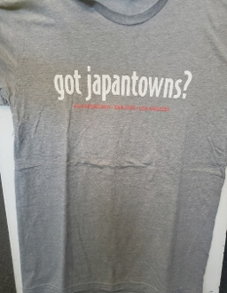 """Got Japantowns?"" Mens T-shirt (Dark Grey)"