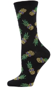 Black Sunglass Pineapple Socks