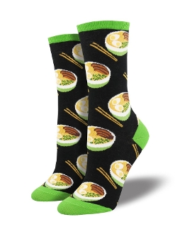 Bowl of Noodles Socks (Women's)