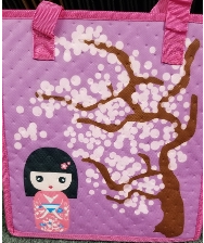 Hot/Cold Reusable Bag-Medium: Kokeshi